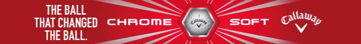Callaway Chrome Soft Top Banner