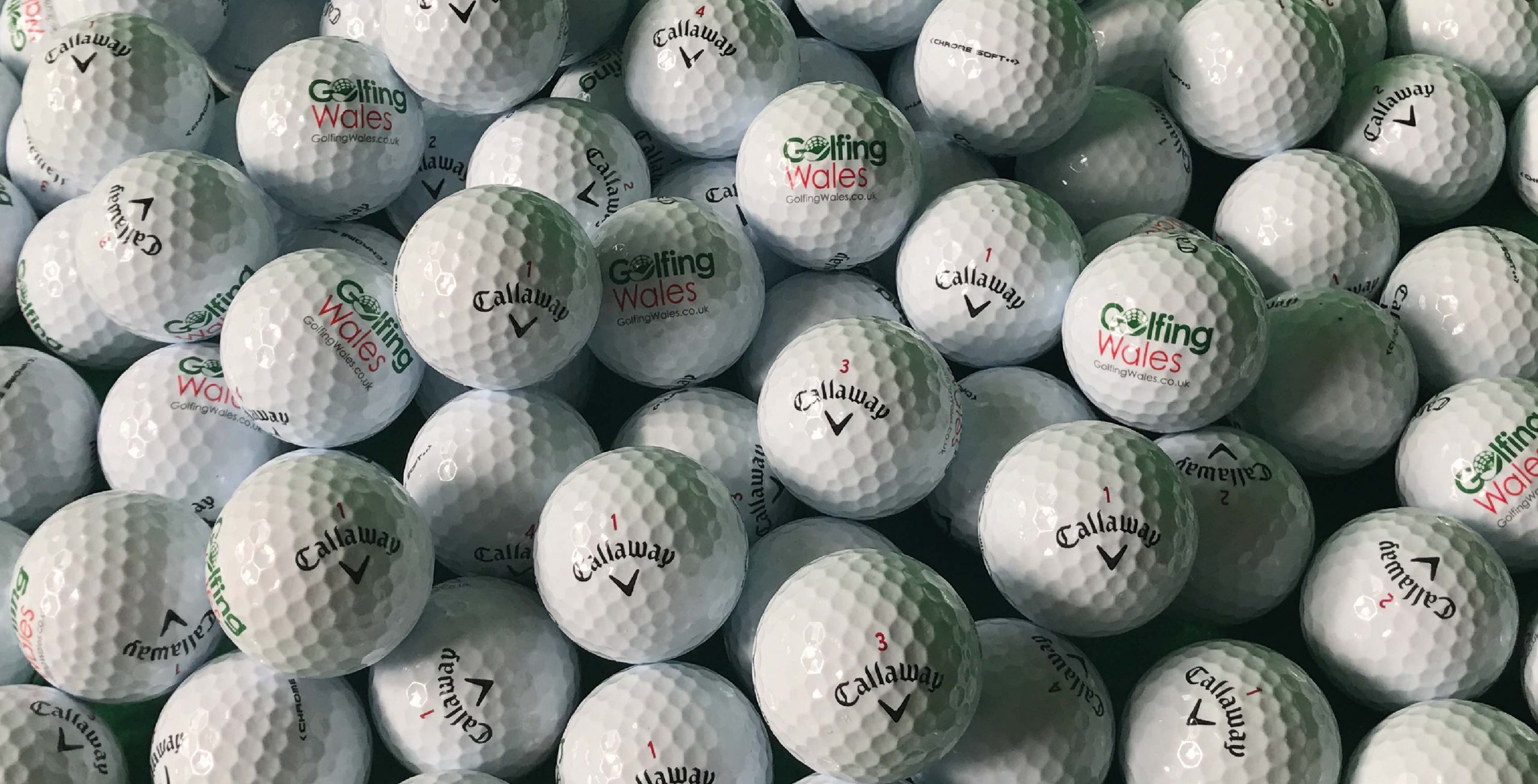 Submit your scores to win Callaway Chrome Soft Balls