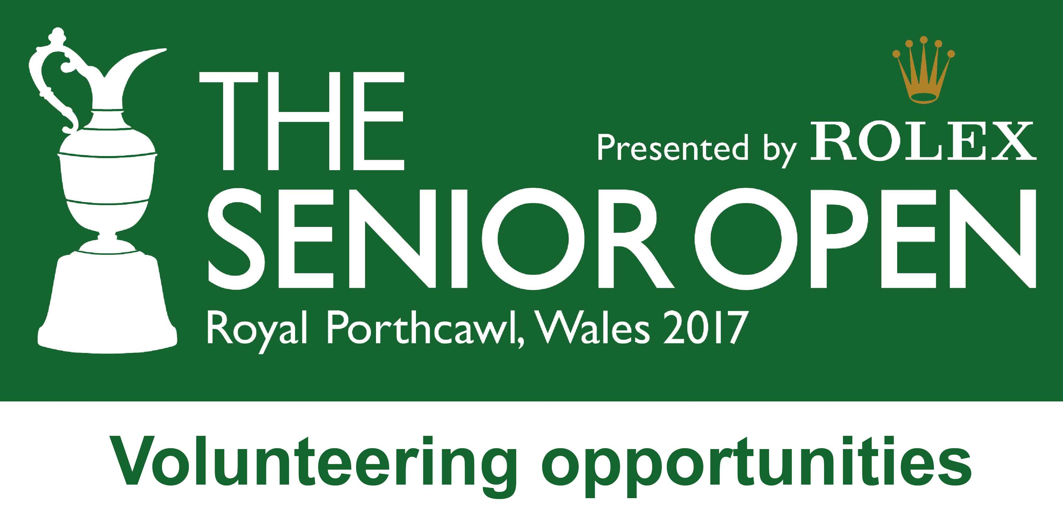 Volunteer at the Senior Open Championship Presented by Rolex