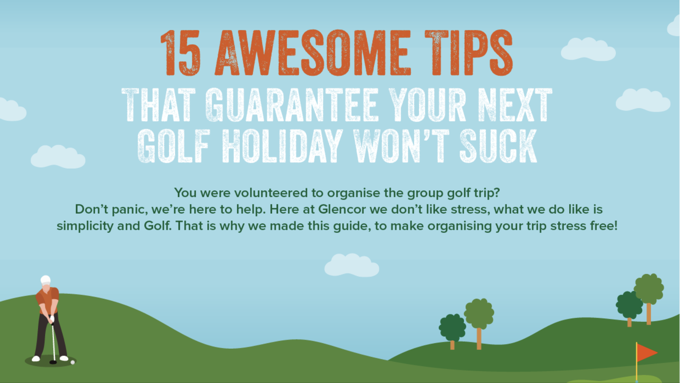 How to make sure you have the best golf holiday